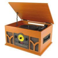 INOVALLEY RETRO10E-BTH Chaine HIFI Retro Bluetooth