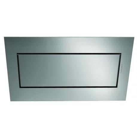 Falmec Design Quasar Vetro - Capot - hotte décorative - evacuation & recyclage - sans moteur - Blanc verre