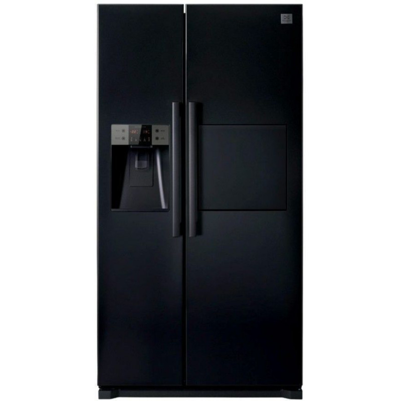 Daewoo frn q22fcb refrigerateur americain daewoo for Refrigerateur americain miroir