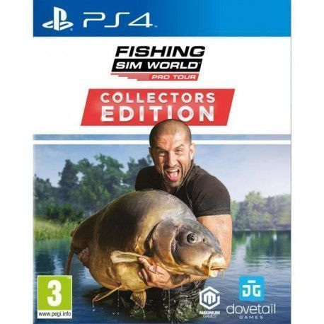 Fishing Sim World Pro Tour Collectors Edition Jeu PS4