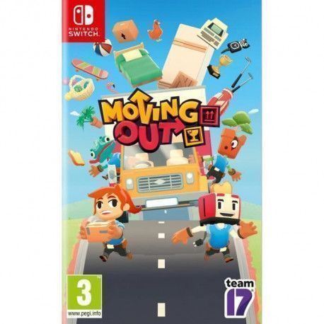 Moving Out Jeu Nintendo Switch
