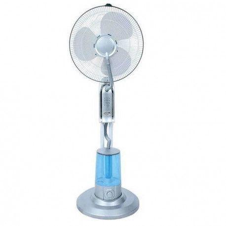 KRAFT Ventilateur brumisateur et ioniseur - Largeur 45 cm - Fonctions independantes - Reservoir 3 litres - Telecommande