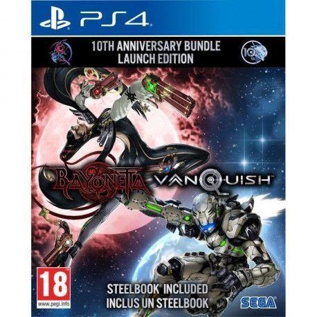 Bayonetta + Vanquish 10th anniversary : Bundle Launch Edition - Jeu PS4