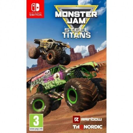 Monster Jam : Steel Titans - Jeu Nintendo Switch