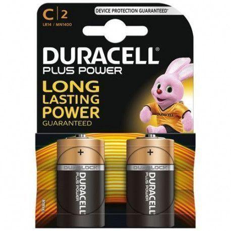Duracell PILES ALCALINES Blister 2 * C - LR14 DURACELL - MN1400B2