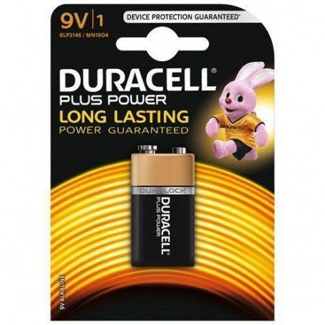 Duracell PILES ALCALINES Blister 1 * 6LR61 - 9V DURACELL - MN1604B1