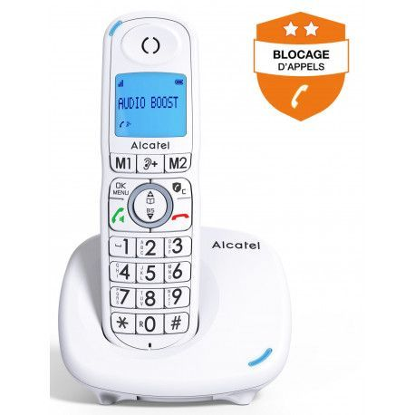 Alcatel Téléphone sans fil ALCATEL XL 585 BLANC