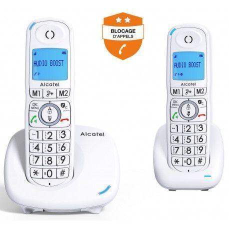 Alcatel Téléphone sans fil ALCATEL XL 585 DUO BLANC