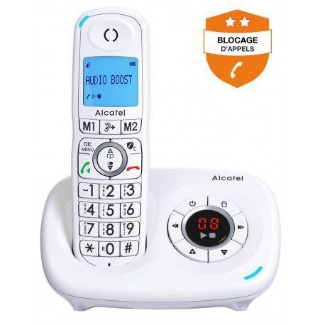 Alcatel Téléphone sans fil ALCATEL XL 585 VOICE BLANC