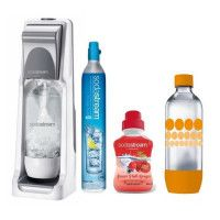 SODASTREAM Pack : Machine COOL Titan + concentre fruits rouges + bouteille Pet