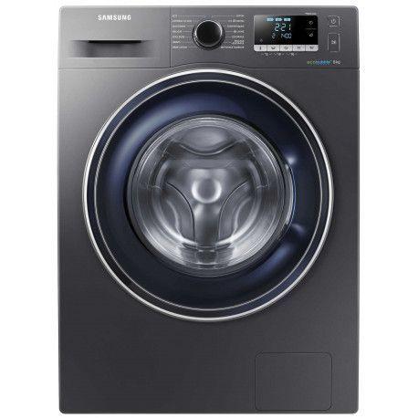 Samsung Ecobubble WW80J5556FX Machine à laver à ouverture frontale - Métal gris