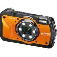 RICOH WG6 Appareil photo Compact outdoor - 20 MP - Video 4K - Orange