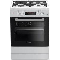 BEKO FSE63410GWP - Cuisinière -Pyrolyse - 66L - A - L60 x H85cm - Blanc