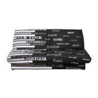 WORLD Banquette Clic Clac 120x190 - Tissu World Noir