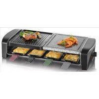 SEVERIN RG 9645 - Raclette/Grill/pierre à griller - 1400 W - Noir
