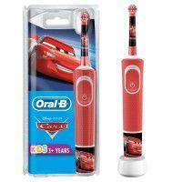 Oral-B Kids Brosse a Dents Electrique - Cars - adaptee a partir de 3 ans, offre le nettoyage doux et efficace