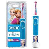 Oral-B Kids Brosse a Dents Electrique - La Reine Des Neiges - adaptee a partir de 3 ans, offre le nettoyage doux et efficace