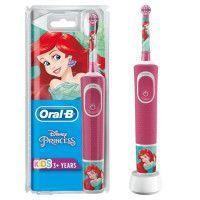 Oral-B Kids Brosse a Dents Electrique - Princesses - adaptee a partir de 3 ans, offre le nettoyage doux et efficace