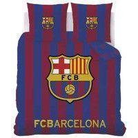 FC BARCELONA Housse de couette + 2 Taies - 240 x 220 cm - Logo