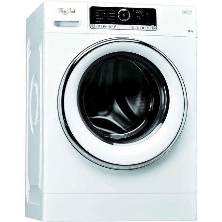 Whirlpool Supreme Care FSCR10427 Machine à laver à ouverture frontale - 64 L - Blanc