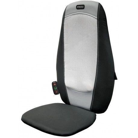 HoMedics SBM-195H - Protection de fauteuil massant pour le dos - Noir/Gris
