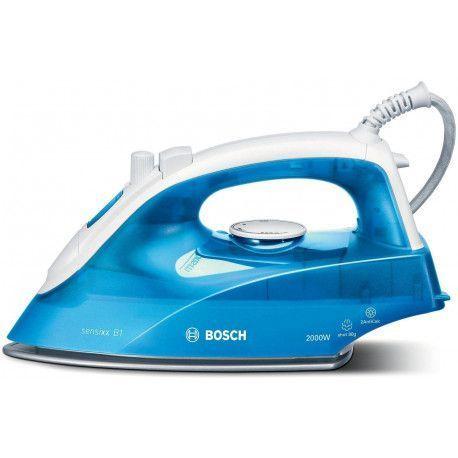 Bosch sensixx B1 TDA2610 - Fer à vapeur - semelle : Palladium-glissee - 2000 Watt - Blanc/myrtille