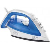 Calor Easygliss FV3920C0 - Fer à vapeur - semelle : Durillium - 2300 Watt - bleu