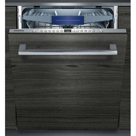 Siemens iQ300 SN636X02KE Lave-vaisselle encastrable - 59.8 cm - Argent