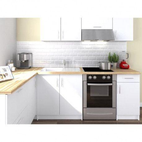 OBI Cuisine complete dangle L 280 cm - Blanc mat
