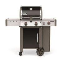 WEBER Barbecue a gaz Genesis II LX E-240 GBS - Acier emaillee - Noir