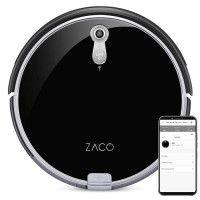 ZACO 501900 Robot Aspirateur Laveur A8s - Autonomie 160min - Reservoir 300ml - Puissance 22W