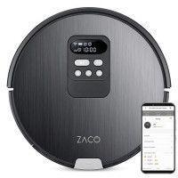 ZACO 501901 Robot Aspirateur Laveur V85 - Autonomie 130min - Reservoir 750ml - Puissance 22W