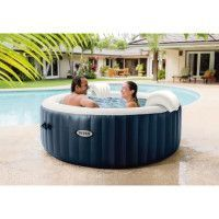 INTEX Pure Spa 28430EX blue Navy 4 places