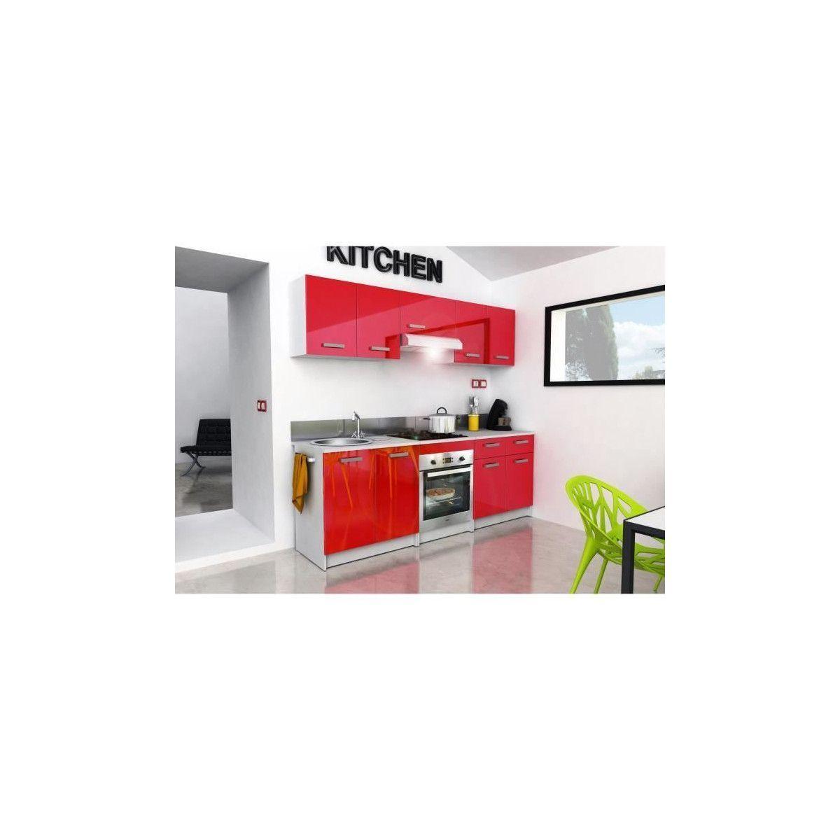 START Meuble bas de cuisine L 11 cm avec plan de travail inclus