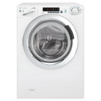 Candy GrandÓ Vita GVSW4106DWC-47 Machine à laver séchante électrique à ouverture frontale - 6 kg - Blanc/chrome