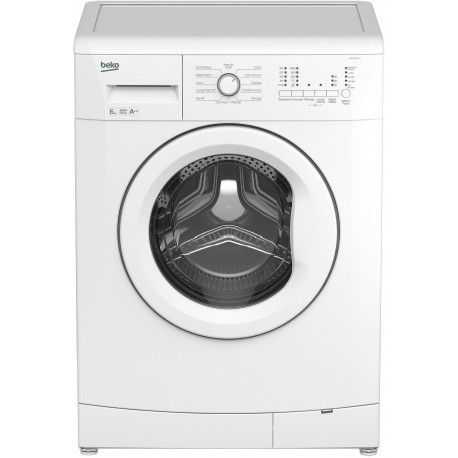 Beko SWM6135 Machine à laver à ouverture frontale - 39 L - Blanc