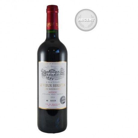 Chateau Le Vieux Serestin 2016 Medoc Cru Bourgeois - Vin rouge de Bordeaux