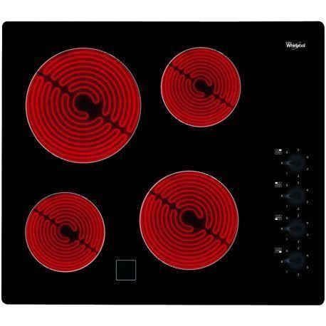 WHIRLPOOL AKM9010NE Plaque vitrocéramique - 4 foyers - Noir - 58 cm