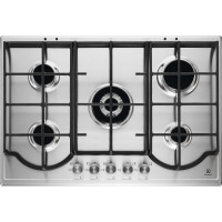 Electrolux EGH7453BOX table de cuisson au gaz - inox