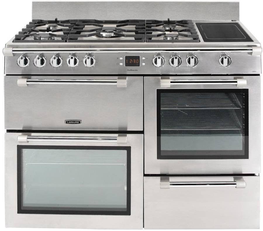Leisure Cookmaster CK110F324X Gazinière - Gaz et électrique - 110 c...