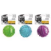 M-PETS Balle transparente distributrice Mars - 8cm - Divers coloris - Pour chien