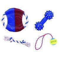 TRIXIE Set SunnFun, 4 jouets pour chien