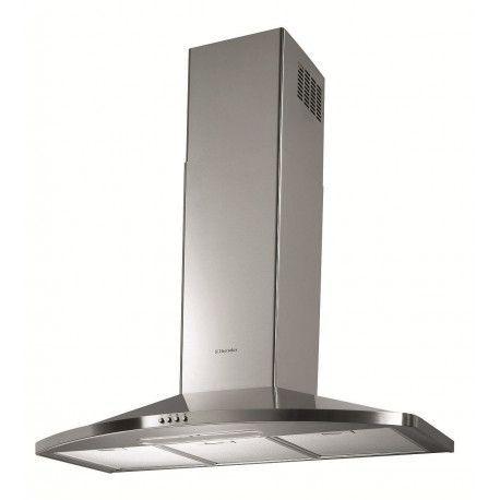 ELECTROLUX EFC90465OX Hotte décorative - 71 dB - Evacuation ou recyclage - Inox - 89.8 cm