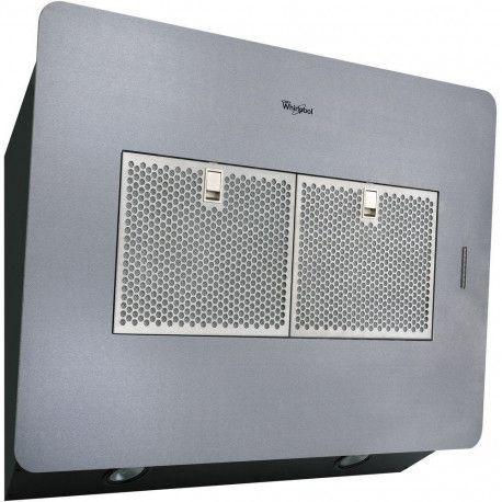 WHIRLPOOL AKR851IX Hotte décorative - 61 dB - Evacuation ou recyclage - Inox - 79.2 cm