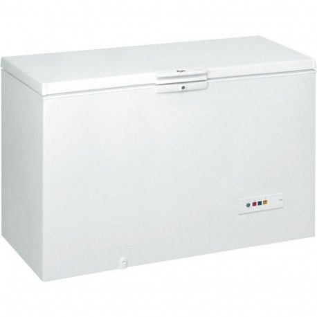WHIRLPOOL WHM4600 Congélateur coffre A + - 454 L - 35 h - Blanc - 3 paniers