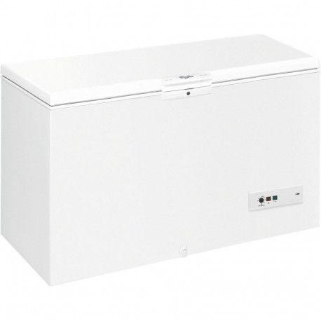 WHIRLPOOL WHM39112 Congélateur coffre A ++ - 390 L - 45 h - Manuel - Blanc