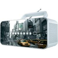 MUSE M 28 NY  Radio CD - MP3, USB - Blanc - MP3