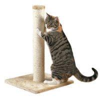 TRIXIE Parla Arbre a chat Hauteur 62 cm beige peluche et sisal naturel