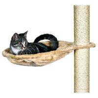 TRIXIE Nid XL pour arbre a chat o 45 cm beige peluche