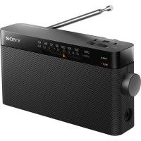 SONY ICF 306  Radio - Analogique - AM / FM - Noir